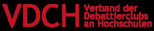 VDCH Verband der Debattierclubs an Hochschulen